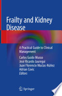 Frailty and Kidney Disease Book