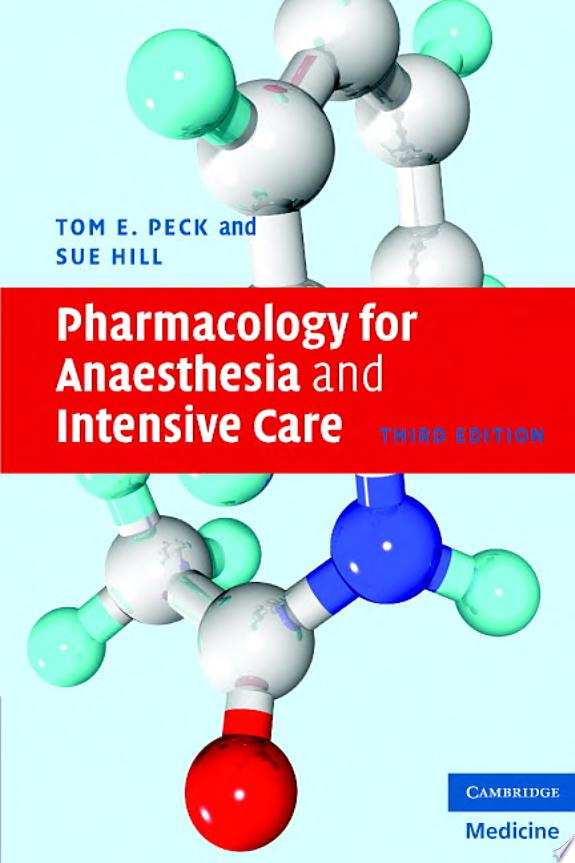 Pharmacology for Anaesthesia and In