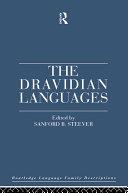 Pdf The Dravidian Languages