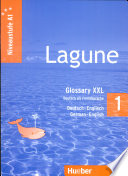 Cover of Lagune 1. Niveaustufe A1. Glossary XXL Deutsch-Englisch - German-English