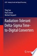 Radiation Tolerant Delta Sigma Time to Digital Converters Book