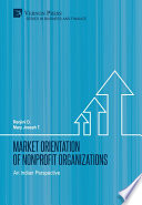Market Orientation of Nonprofit Organizations  An Indian Perspective