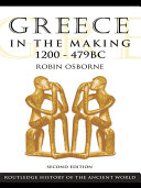 Greece in the Making 1200–479 BC