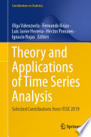 Theory and Applications of Time Series Analysis