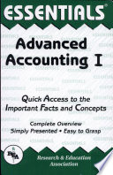Advanced Accounting I Essentials PDF
