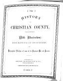 History of Christian County  Illinois