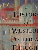 A History of Western Political Thought Pdf/ePub eBook
