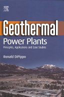 Geothermal Power Plants Pdf/ePub eBook
