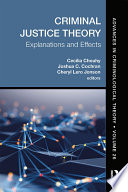 Criminal Justice Theory  Volume 26