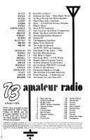73 Amateur Radio s Technical Journal