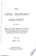 Union Seminary Magazine