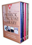 Patrick Lencioni Library (Five Temp. of a Ceo,four Obsess. of an Extraordinary Exec. ,five Dysf. of a Team,death by Meeting( for Amazon Only)