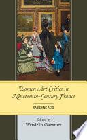 Women Art Critics In Nineteenth Century France