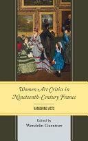 Women Art Critics in Nineteenth-Century France