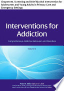 Interventions For Addiction Book