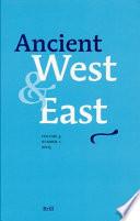Ancient West   East