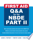 First Aid Q&A for the NBDE  , Part 2