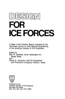 Design for Ice Forces