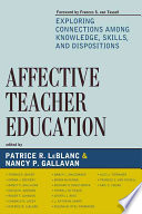 Affective Teacher Education