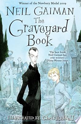 Book cover of 'The Graveyard Book' by Neil Gaiman