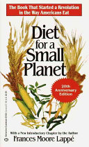 Diet for a Small Planet Book