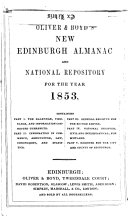 Oliver and Boyd s Edinburgh Almanac and National Repository