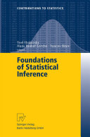 Foundations of Statistical Inference