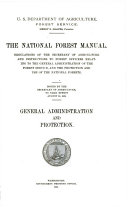 The National Forest Manual