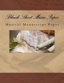 Blank Sheet Music Paper