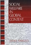 Social Welfare in Global Context Book