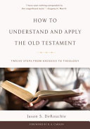 How To Understand And Apply The Old Testament Book PDF
