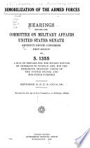 Demobilization of the Armed Forces