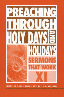 Preaching Through Holy Days and Holidays