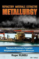 Refractory Materials Extractive Metallurgy
