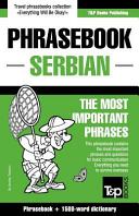 English-Serbian Phrasebook and 250-Word Mini Dictionary