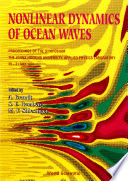 Nonlinear Dynamics Of Ocean Waves   Proceedings Of The Symposium
