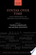 Syntax Over Time