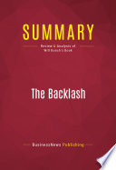 Summary: The Backlash Pdf/ePub eBook