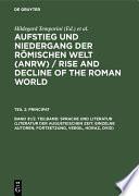 Sprache und Literatur (Literatur der augusteischen Zeit: Einzelne Autoren, Fortsetzung, Vergil, Horaz, Ovid)