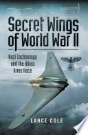Secret Wings of World War II Book PDF
