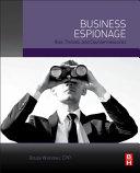 Business Espionage Book