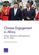 Pdf Chinese Engagement in Africa Telecharger