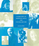 A Directory of American Poets and Fiction Writers 2003-2004
