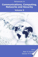 Advances in Communications  Computing  Networks and Security 5 Book