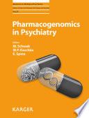 Pharmacogenomics in Psychiatry Book