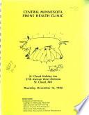 Central Minnesota Swine Health Clinic