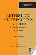 Rethinking State Politics in India