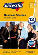 Books - Oxford Successful Business Studies Grade 12 Teachers Guide | ISBN 9780195999860