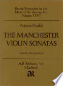 The Manchester Violin Sonatas