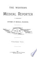 The Western Medical Reporter Book